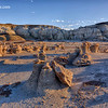 Bisti Badlands - Alien Eggs Moonscape - New Mexico