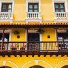 Colourful Buildings of Cartagena