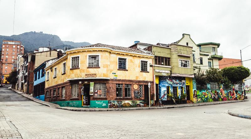 Bogotá Street Corner