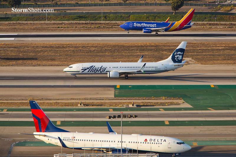Three Planes LAX