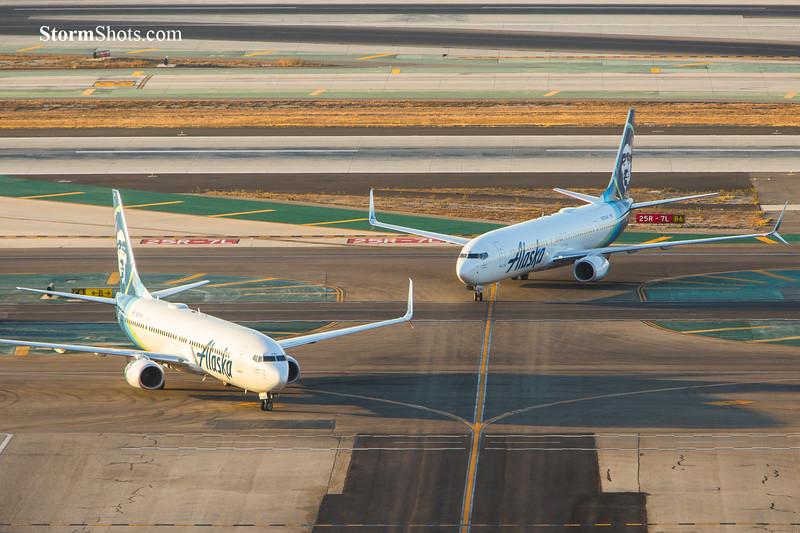 Coming In - Alaska Airlines