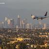 Delta Jet Landing at LAX