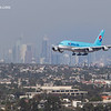 Korean Air Landing at LAX
