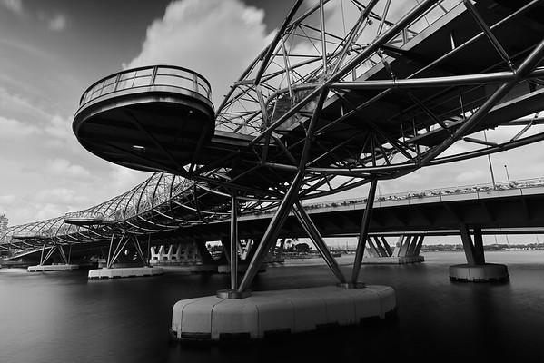 The Helix Bridge (Singapore)