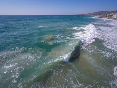 Laguna Beach surfer.