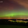 Northern Lights Reflections - Berks County Pennsylvania
