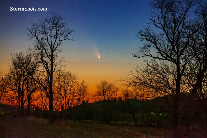 Comet C/2011 L4 PanSTARRS - March 2013