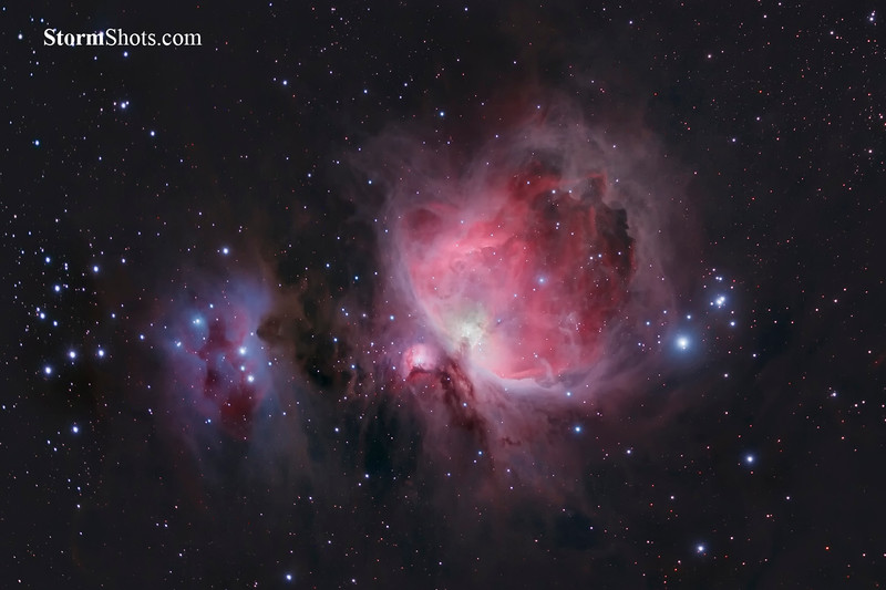 M42 - The Great Orion Nebula - Orion Constellation - Winter Sky