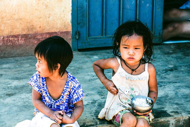Village Children Eating