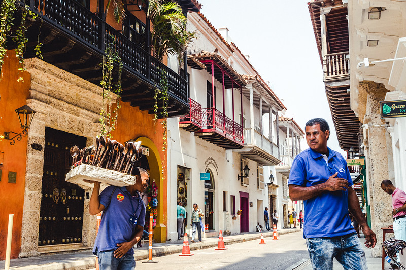 Cartagena Back Streets