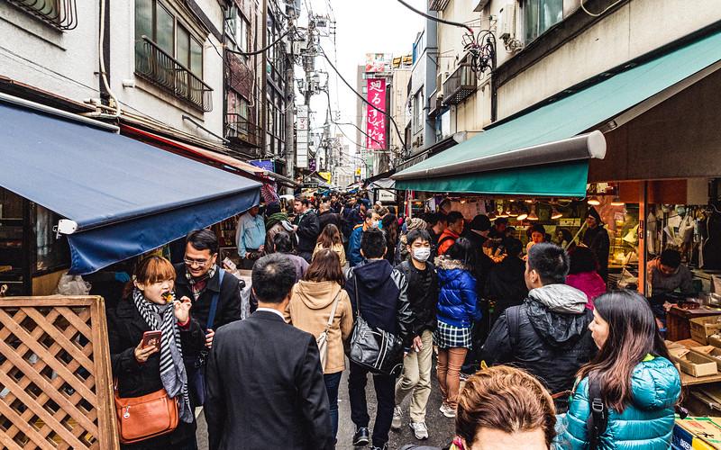 Backstreets of Tsukiji