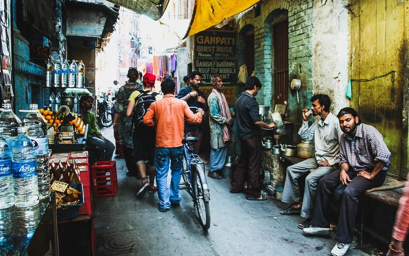 Varanasi Back Street Food Stall
