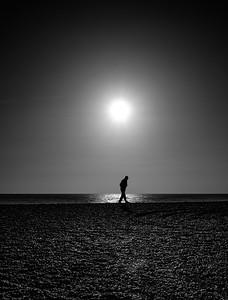 Brighton Sunset- mono