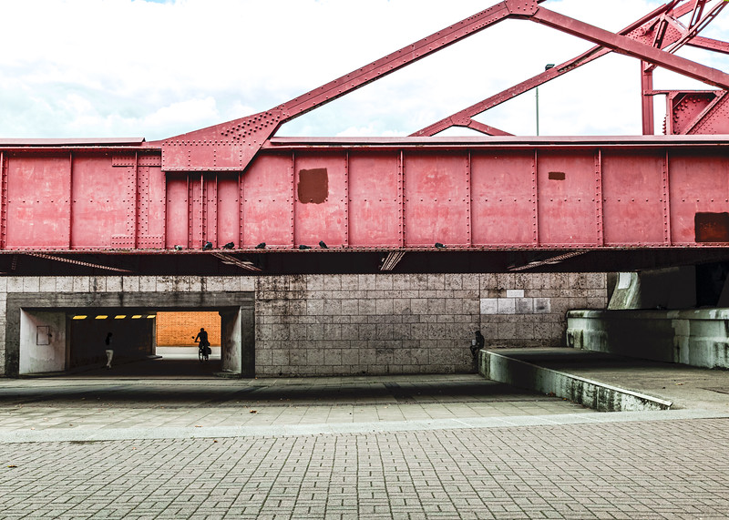 Red Steel Bridge