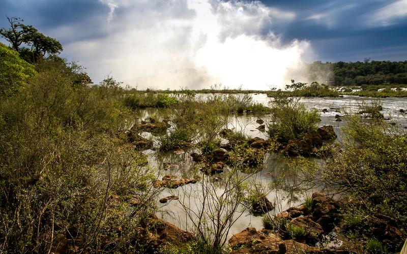 Mist of Iguazu Falls