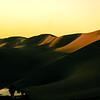 Sun Capped Sand Dunes