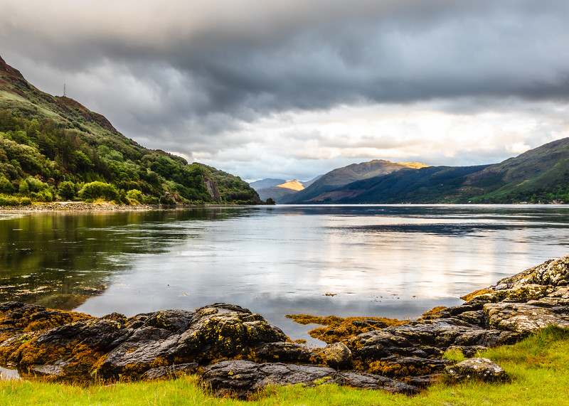 View Over Loch Duich
