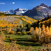 Mt Sneffels View - County Road 7 - Ridgeway, Colorado