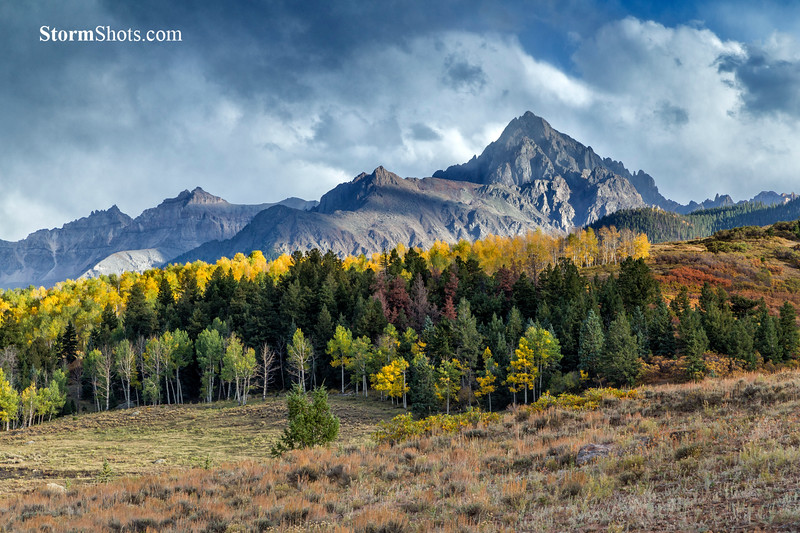 San Juan Mountains - West Dallas Creek Road - Ridgeway, Colorado