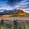 Dallas Divide Sunset - Last Dollar Road - Ridgway, Colorado