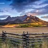 Dallas Divide Sunset - Last Dollar Road - Ridgway, Colorado