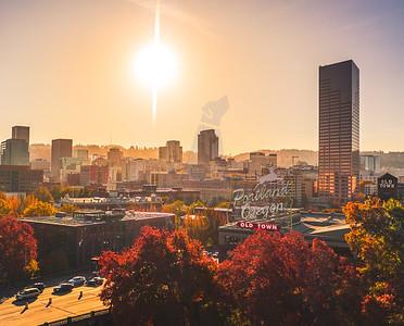 Fall in Portland