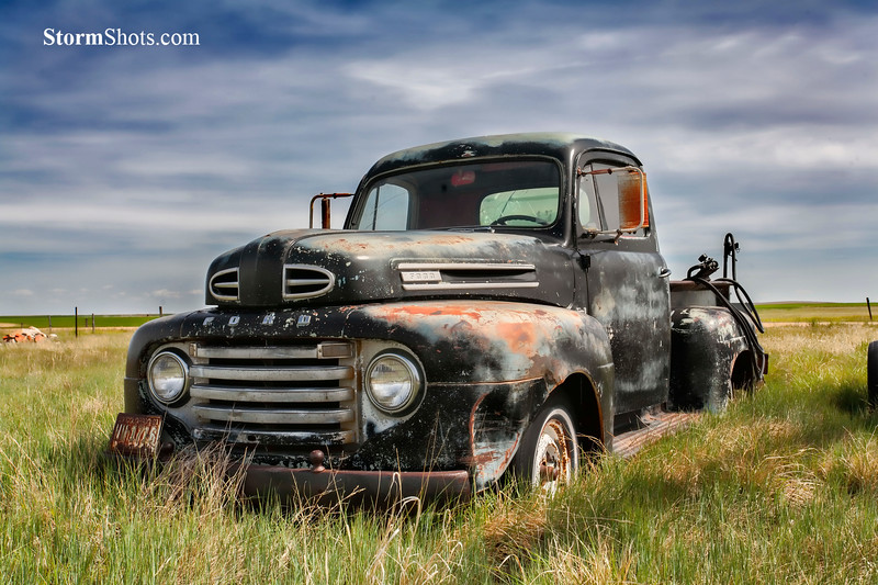 Retired Ford Truck - Eastern Plains of Colorado