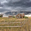 Sudden Thunder - Old Farmstead - Grover Colorado