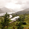 Train Passing Through Glenfinnan