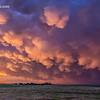 Mammatus Sunset – Woodward, Oklahoma – May 18, 2019