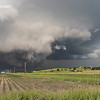 Developing tornado