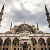 A View From The Courtyard of the Blue Mosque