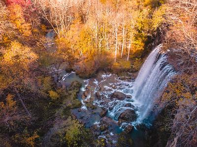 Falling Springs Falls