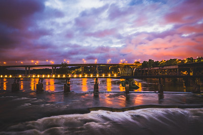 James River glow