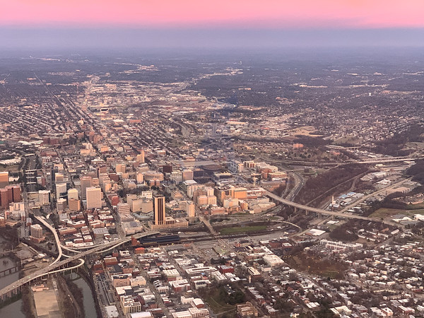RVA from above