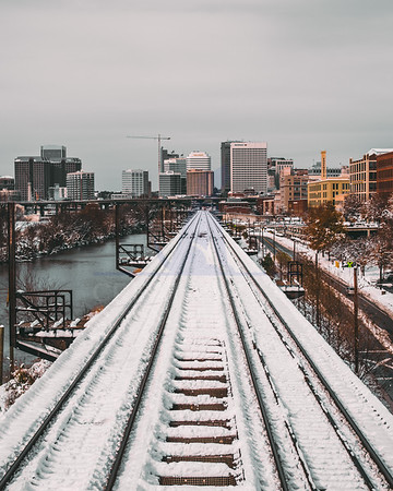 Snow-covered RVA