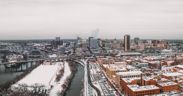 Snow-covered RVA