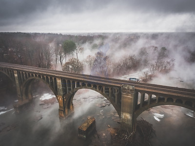 Foggy James River