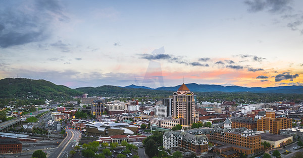 Roanoke sunset