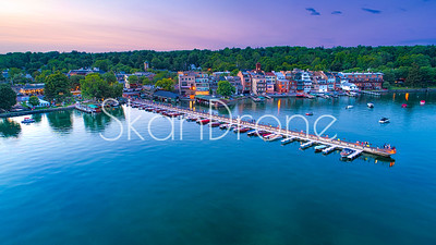 Sundown in Skaneateles