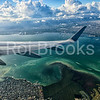 Wing dip over Miami