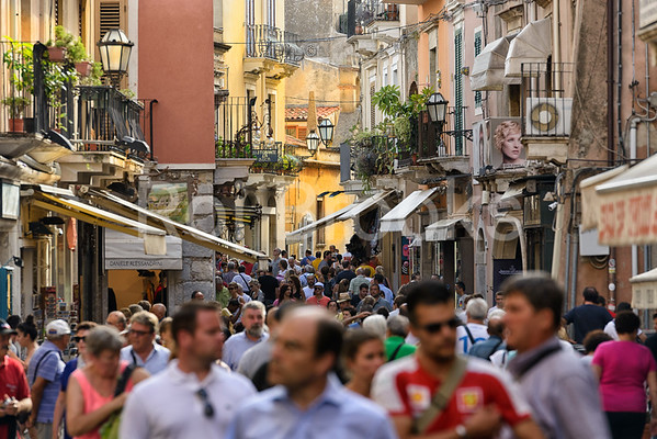 Taormina visitors