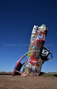 Cadillac Ranch, Texas, America