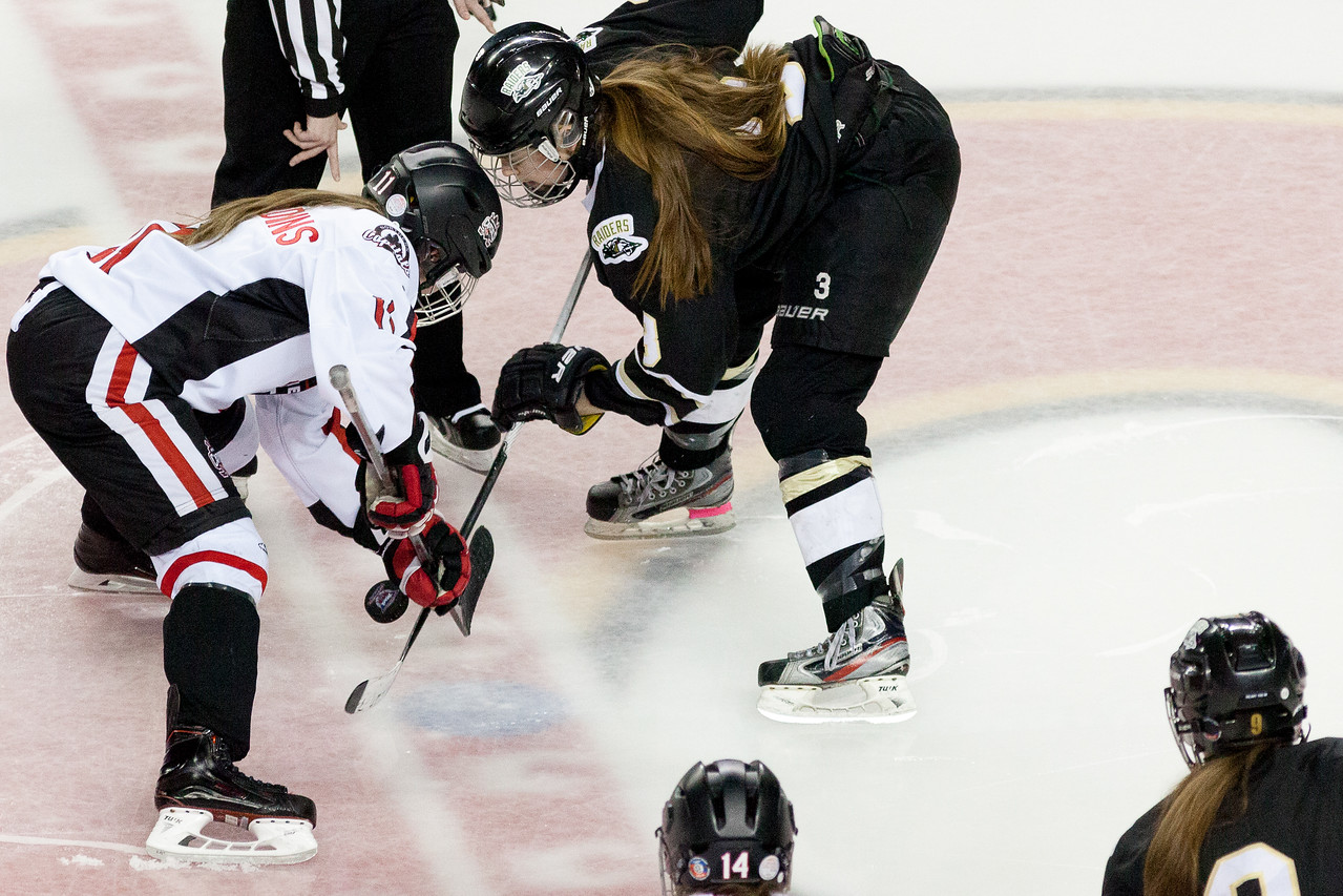 "Mac's AAA Midget Tournament Female Division Finals. The Northern Capitals (Prince George, BC) won the female division final over the Rocky Mountain Raiders (Okotoks, AB). January 1, 2016.  <a href=""http://www.laine.ca"">http://www.laine.ca</a>"