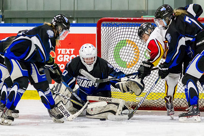 December 29, 2017 - Calgary, AB - 2017-2018 Mac's AAA Midget Hockey Tournament - Max Bell Centre Arenas. Female Game #12: Regina Rebels vs. Swift Current Wildcats.