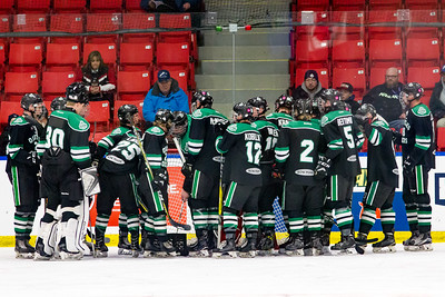 December 26, 2017 - Calgary, AB - 2017-2018 Mac's AAA Midget Hockey Tournament - Max Bell Centre Arenas. Greater Vancouver Canadians vs. Okotoks Bow Mark Oilers.