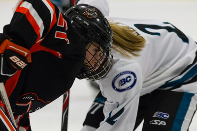 December 29, 2017 - Calgary, AB - 2017-2018 Mac's AAA Midget Hockey Tournament - Max Bell Centre Arenas. Female Game #11: Vancouver Island Seals vs. Prince Albert Northern Bears.