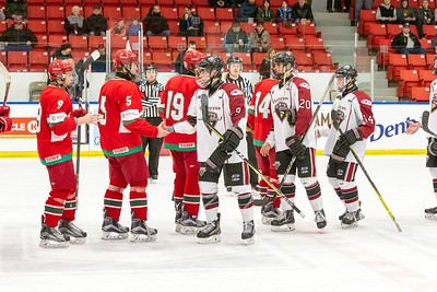 December 26, 2017 - Calgary, AB - 2017-2018 Mac's AAA Midget Hockey Tournament - Max Bell Centre Arenas. Game 1: Vancouver NW Giants vs. Belarus U17.