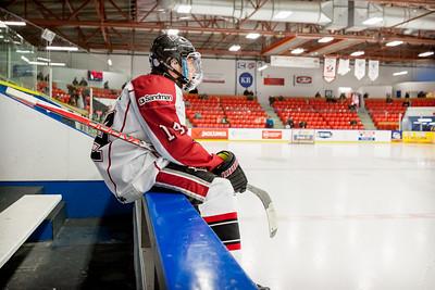 December 26, 2017 - Calgary, AB - 2017-2018 Mac's AAA Midget Hockey Tournament - Max Bell Centre Arenas. Game 1: Vancouver NW Giants vs. Belarus U17.