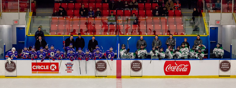December 26,2018 - Calgary,AB. Mac's AAA Midget Hockey Tournament.